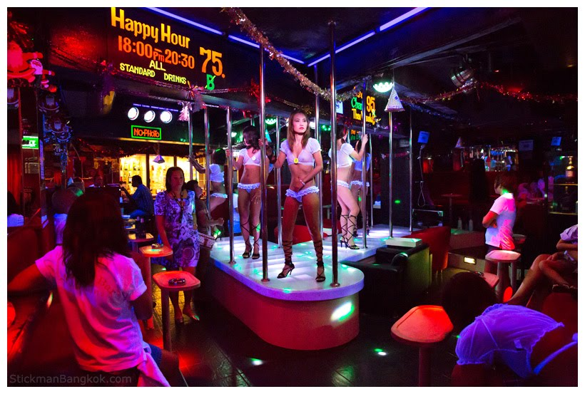Decent club gets turned into a naughty swinger club 4